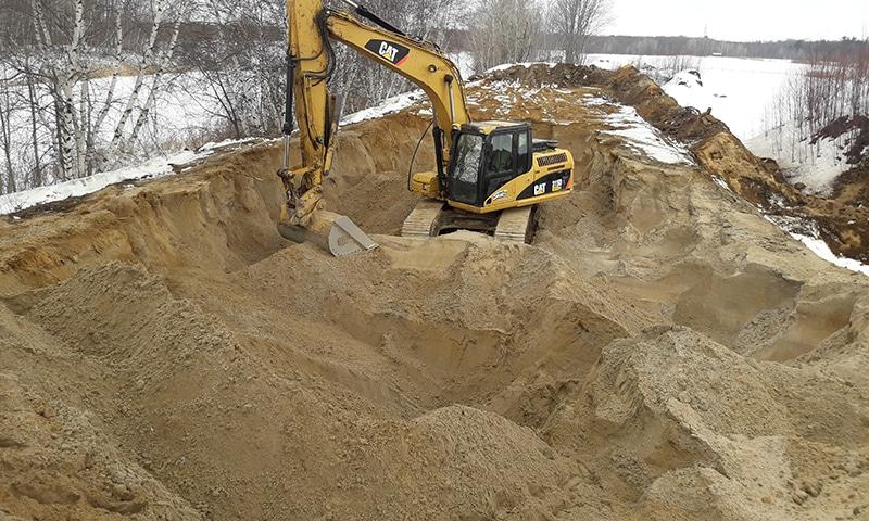 Gaby Trepanier Excavation Sable